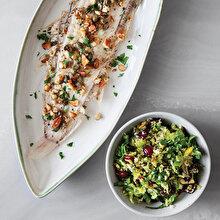 Kaparili Tereyağlı Tavada Dil Balığı