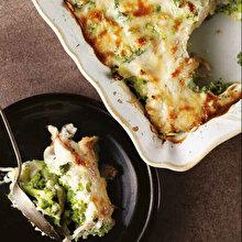 Brokolili Tavuklu Graten