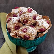 Muzlu Frambuazlı Muffinler