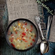 Karışık Kuru Sebze Çorbası