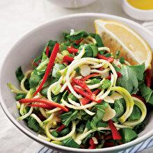 Fesleğenli Kabak Salatası