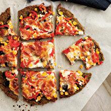 Ispanak Zeminli Pizza