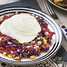Mısırlı Karabuğday Salatası