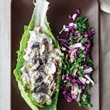 Piyazlı Tavuk Salatası