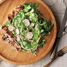 Kuzu Şişli Semizotu Salatası