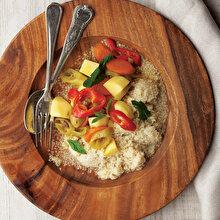Sebzeli Bulgur Salatası