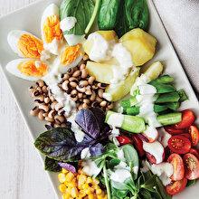 Kuru Börülceli Patatesli Salata