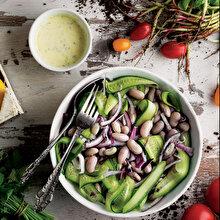 Taze Barbunyalı Salata