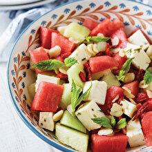 Karpuz Kavun Salata