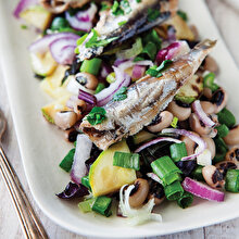 Sardalyalı Salata