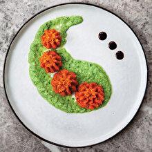 Salatalık ve Balzamikli Mercimek Köftesi