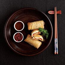Fırında Sebzeli Çin Böreği