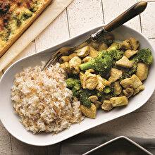 Susamlı Tavuklu Brokoli