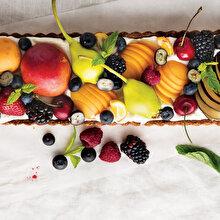 Taze Meyveli Tart