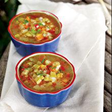 Fasulyeli Sebze Çorbası