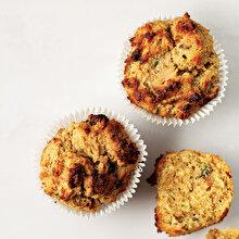 Avokadolu Unsuz Şekersiz Muffin