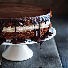 Kestaneli Çikolatalı Pasta
