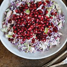 Yoğurtlu Kış Salatası