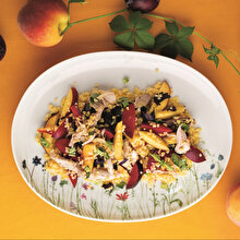 Tavuklu Fesleğenli Mısır Salatası