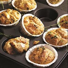 Lor Peyniri ve Sumaklı Muffin