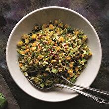 Mısırlı Lahana Salatası