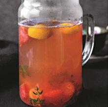 Çaylı Sıcak Meyve Suyu
