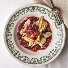 Cranberry Soslu ve Zerdeçallı Tavuk
