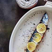 Fırında Sebzeli Palamut Dolması