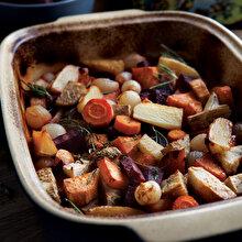 Fırında Balzamikli Sebzeler