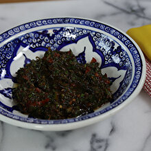 Taze Kekikli Salata
