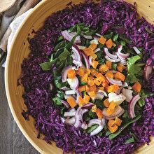 Kayısılı Ispanak Salatası
