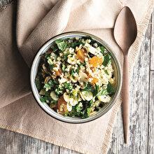 Arta Kalan Bulgur Pilavından Soğuk Salata