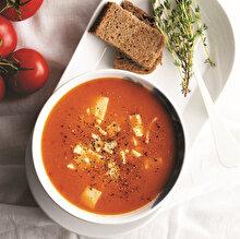Tam Mevsiminde Domates Çorbası