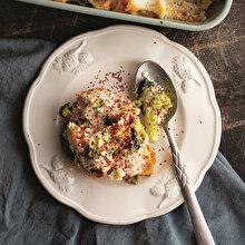 Brokoli Karnabahar Graten