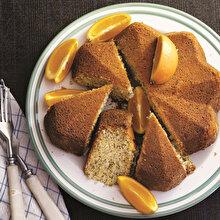 Portakal ve Chialı Kek