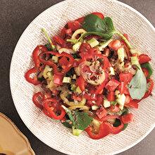 Semizotlu Çoban Salatası