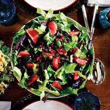 Greyfurtlu Narlı Yeşil Salata