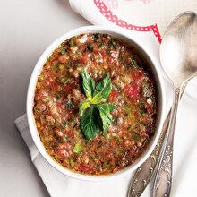 Soğuk Yaz Salatası Çorbası