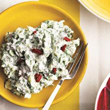 Goji Berryli Ot Salatası