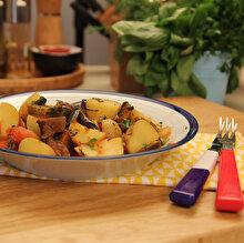 Dana Soteli Patlıcan Türlüsü