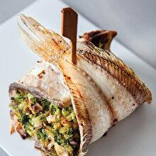 Brokolili Dil Balığı Sarma