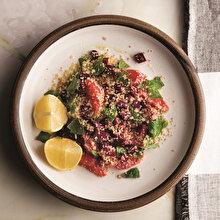 Greyfurtlu Pancarlı Bulgur Salatası