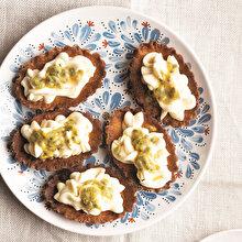 Pastacı Kremalı Passion Fruitli Tartolet