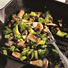 Mantarlı Brokoli