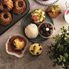 Frambuazlı Limonlu Muffin