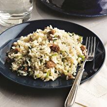 Beyaz Dutlu Pirinç Pilavı