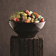 Kuru Fasulyeli Patlıcanlı Salata