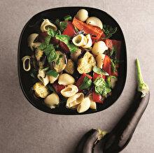 Reyhanlı Patlıcanlı Makarna Salatası