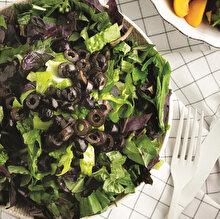 Zeytinli ve Reyhanlı Salata