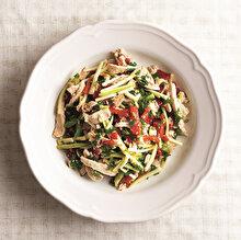 Jülyen Kabaklı Tavuk Salatası